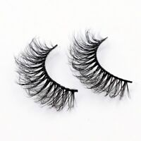 3D Mink Eyelashes 100% Cruelty free Lashes Handmade Reusable Natural Eyelashes