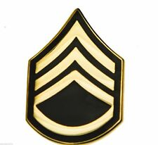 Army Staff Sergeant E-6 Hat or Lapel Pin H14427D1