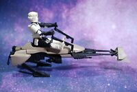 VINTAGE Star Wars COMPLETE Endor SPEEDER BIKE + FIGURE KENNER Return of the Jedi