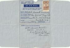 1942 Canadian Armed Forces Overseas Air letter Sheet to England via A.P.O. 505