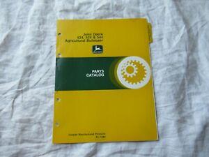 John Deere 524 534 544 agricultural bulldozer parts catalog manual