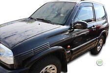 Suzuki Grand Vitara FT 3 puertas 1999-2005 conjunto de frente viento desviadores 2pc Heko