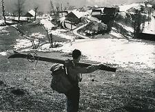 LA ROCHETTE c. 1935 - Skieur  Village  Savoie - DIV 7449