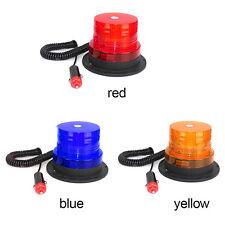 1PC Car Amber Magnetic Warning LED Flash Beacon Strobe Emergency Light Lamp LU