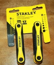 NEW STANLEY STHT71839 FOLDING & METRIC HEX KEY SET FREE SHIPPING