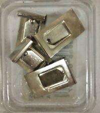 4 pzMollette Fermaquadri Ganci Fermaquadri per Masonite Fresata Quadri Cornice