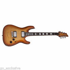 Schecter C-1 Custom Natural Vintage Burst NVB Electric Guitar NEW + FREE Gig Bag