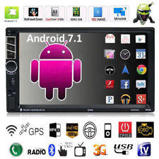 "Quad Core Android 7.1 WiFi 7"" 2DIN GPS Autoradio Bluetooth Stereo MP5 MP3 FM"
