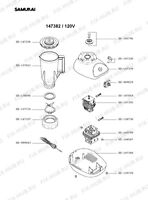 SEB MOULINEX TEFAL - Commutateur pour robot SEB SS-989029 - SS-989029