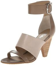 New Belle Sigerson Morrison Forum Leather Dress Sandal taupe size 11 M NWOB