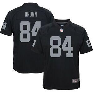 Antonio Brown Nike Oakland Raiders Black Youth Game Jersey