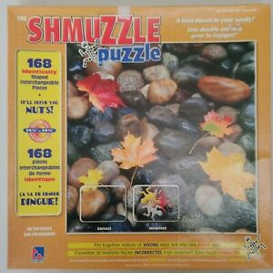 The Shmuzzle Puzzle On The Rocks Jigsaw Puzzle 168 Identical Piece Complete 1976