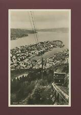 Norway BERGEN Floibanen Railway General view c1930/40s? RP PPC