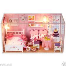 Case di bambole e miniature set di carta