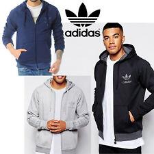 Adidas Originals SPO Trefoil Con Capucha Para Hombre Sports Sweatshirt Track de Superdry Cremallera Completa