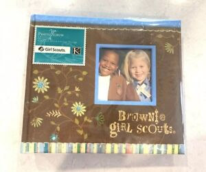 New K & Company Brownie Girl Scouts Scrapbook Photo Album Holds 200 Pictures 4x6