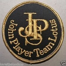 Vintage Sew-on Patch John Player Special Formula One Team Lotus