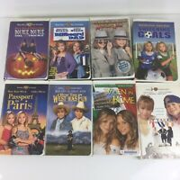 Mary-Kate & Ashley Olsen Lot of 8 VHS - Passport to Paris,Switching Goals etc