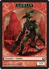 5x TOKEN Goblin 1/1 MTG MAGIC RtR Return to Ravnica Italian