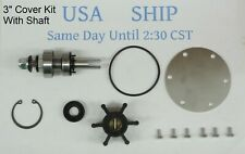 Major Rebuild Kit With Shaft Johnson Pump 10-24509-01 10-24509-02 10-13337-01