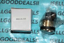 """Adams Rite 4066-01-335 Mortise Thumbturn Cylinder Black Anodized 1 5/32"""" New"""