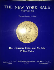 NY Sale Russian Polish Gold Silver Coins Medals Markov Auction XII Jan.12 2006