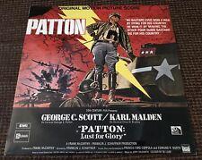 PATTON O.S.T LP EX!!! UK 1ST PRESS STATESIDE SSL 10302 JERRY GOLDSMITH
