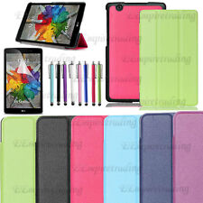 For LG G Pad Ultra Slim Smart Stand Book Folio Leather Hard Case Cover