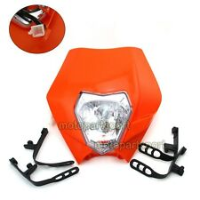 Motorcycle Headlight For KTM R SX EXC XCF XC SXF 65 85 105 250 350 450 525