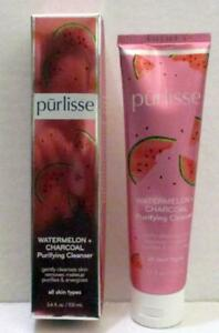 NEW PURLISSE WATERMELON CHARCOAL PURIFYING CLEANSER MAKEUP REMOVER FULL SZ 3.4OZ