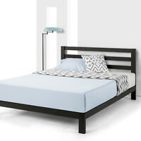 10'' EXTRA STURDY Heavy Duty Metal Platform Bed with Wooden Slat Support