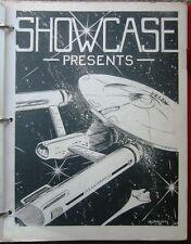 """Star  Wars Trek TOS Fanzine """"Showcase Presents"""" GEN"""
