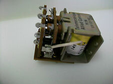 ALLIED/TELEMECANIQUE 3PDT 120 VAC RELAY