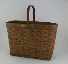 Longaberger 1981 J W Limited Edition Original Bread & Milk Basket Extremely Rare