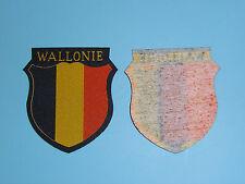 b0281 WW 2 German Army Volunteer  Sheild Wallonie R18E