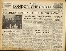 west london chronicle june 6th 1947 -  seaside trip for darby and joan