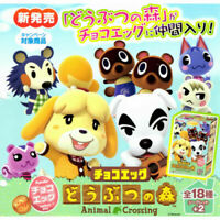 Nintendo Choco Egg Animal Crossing Figure 1BOX (10pieces) JAPAN OFFICIAL IMPORT