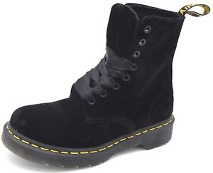 DR. MARTENS WOMAN ANKLE BOOTS BOOTIES CASUAL WINTER ART. 1460 PASCAL VELVET