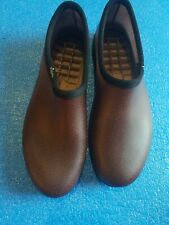 Mens Sloggers Size 12 Slip On Shoes Water Proof Dark Red