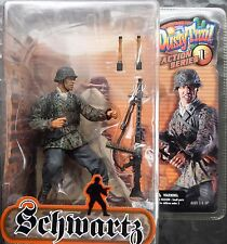Dusty Trail SCHWARTZ WW2 German soldier Series 1 action figure 2003 unopened