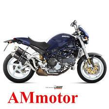 Mivv Ducati Monster S4R 2003 03 Scarico Terminale Marmitta Gp Carbonio Moto