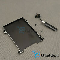 NEW Dell Latitude 5490 5491 5480 HDD Cable 80RK8 + Caddy Frame Bracket 0NDT6 US