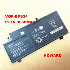 New Genuine VGP-BPS34 Battery For Sony VAIO Fit 15 Touch SVF15A1ACXB SVF15A1ACXS