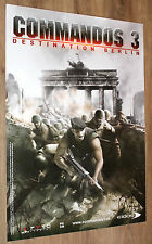 Commandos 3 Destination Berlin very rare Promo Poster  84x59.5cm