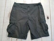 Nautica Men's Cargo Hiking Camping Fishing Shorts Size 40 Gray 100% Cotton