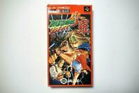 Super Famicom Rushing Beat Shura boxed Japan SFC game US Seller