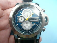 New Old Stock FOSSIL 45mm Chronograph Date Quartz Men Watch