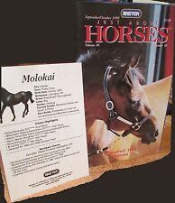 JUST ABOUT HORSES JAH Breyer 1999 Vol.26 #5 MAKING ROPES BONUS BREYERFEST POSTER