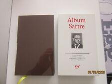 album pléiade Sartre philosophie gallimard collection livre ancien lot 20ième