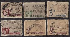 France Revenue Stamps Mauritanie 1915 Revenues Fiscals OV668? Used Lot 9 #2